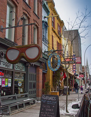 Winter walk on Argyle Street (DGMiller777) Tags: street winter canada ice shop bar shoe store cafe raw seahorse novascotia general ns foggy moose diamond biscuit tavern icicle toothy halifax argyle goggle economy dng chdk