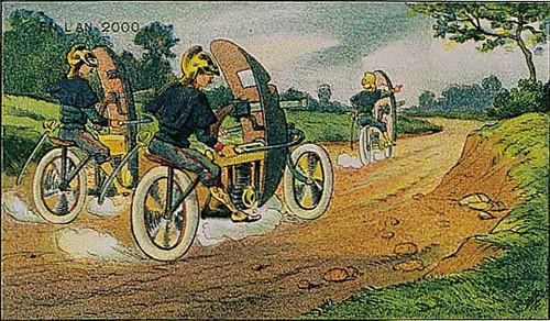 vigilantes sobre ruedas