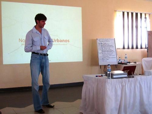 Georg präsentiert Requalificação Urbana 2.0