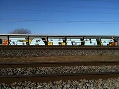 (KeepRunnin') Tags: denmark graffiti big track side eat chrome danish graff piece traintrack guf stjskrme eatguf