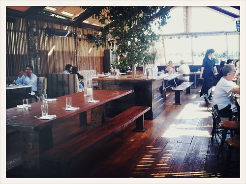 The Eveleigh's Patio by Caroline on Crack