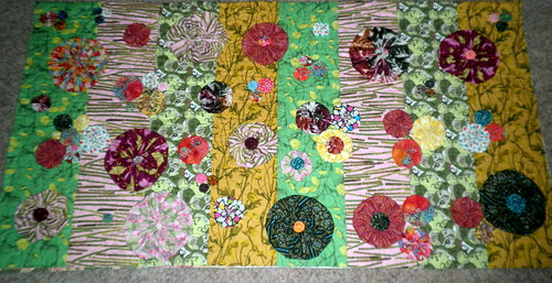 Bloom Quilt - WIP