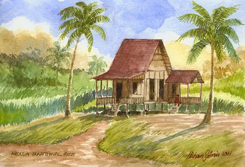 Rumah Kampung A Photo On Flickriver