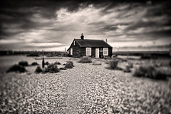 Mr Jarmans House (dougchinnery.com) Tags: winter clouds kent cottage shingle shift dungeness tilt quirky icm tse jarman friel