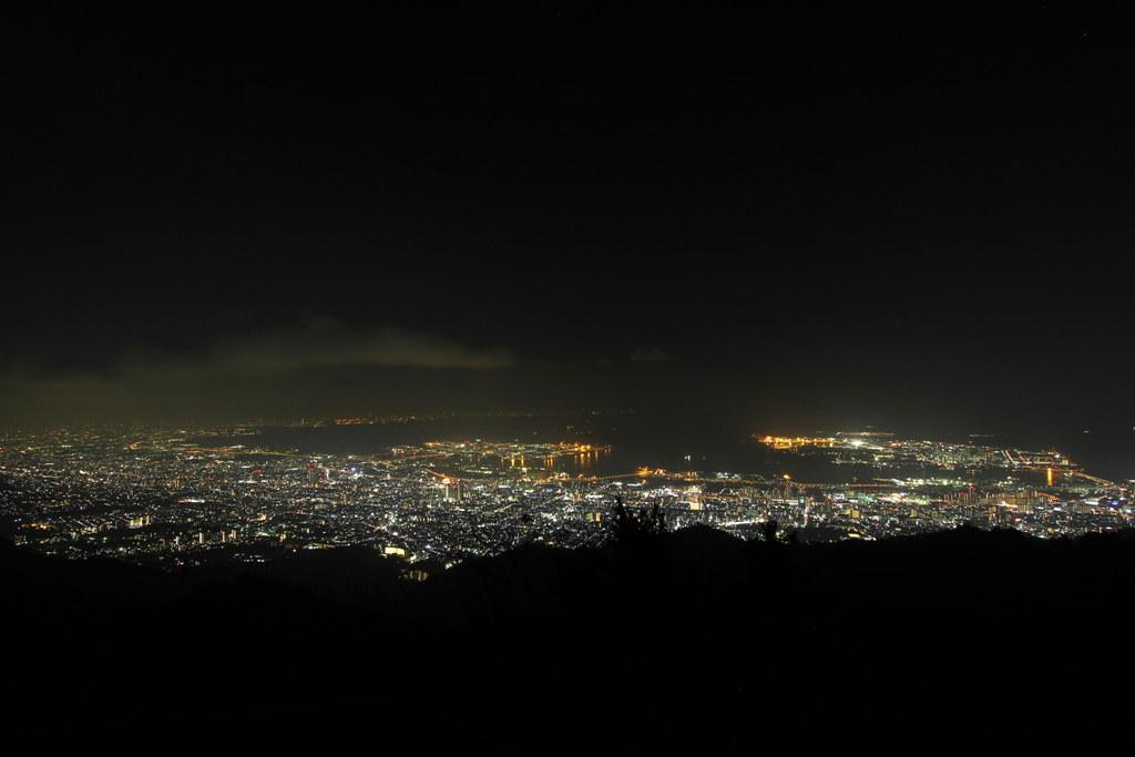 Rokkosan Night View Photo (2)