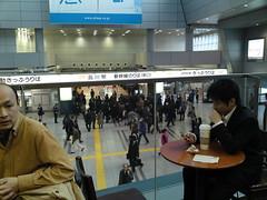 品川駅で生きてます。