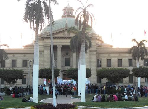 قبة جامعة القاهرة-تصوير داليا العقاد