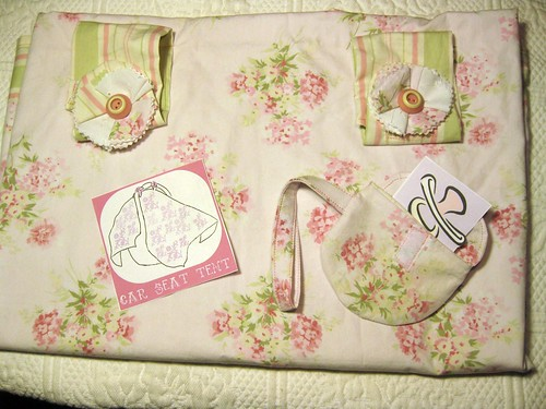 Car Seat Tent and Pacifier Bag