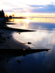 Sunset at Crescent Beach (Nce wAs jacb) Tags: sunset beach crescent tone tonal oncewasjacob facebookoncewasjacob instagramoncewasjacob1978 twitteroncewasjacob1978