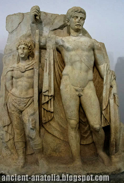 Tiberius with Captive