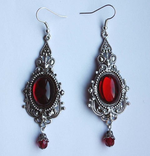 Victorian Vampire Earrings