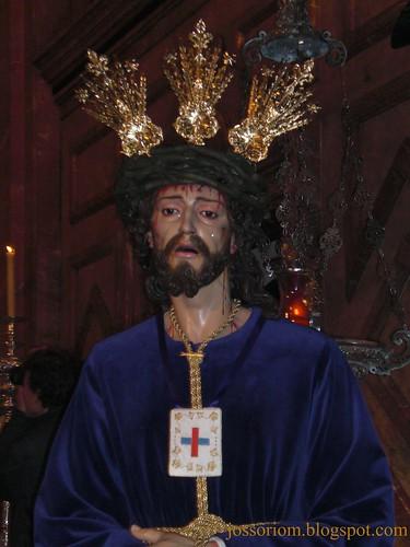 Bendición de Ntro. Padre Jesús Cautivo de Medinaceli, de Ciempozuelos, en la Basílica de la Macarena en Sevilla.51