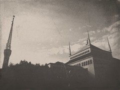Back to 1930 (bramasetyadi) Tags: mosque oldeffect