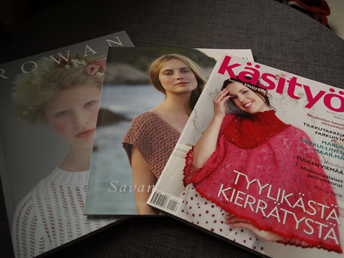 Magazines for spring dreaming