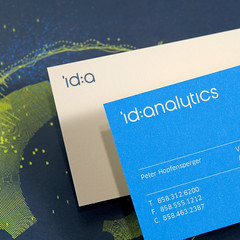 ID Analytics Identity (Tolleson Design) Tags: typography design graphicdesign branding printdesign identitysystems tollesondesign
