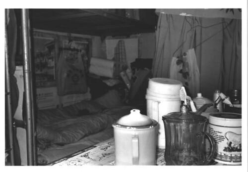 Factory dorm space.