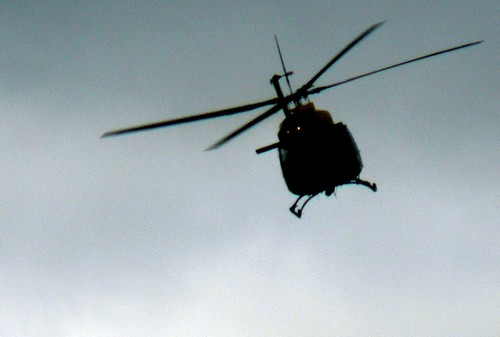 black helicopter! (by: CmdrGravy, creative commons license)