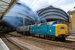 55022 20100724 York (steam60163) Tags: york grey royal scots deltic 55022 publishedphotographs