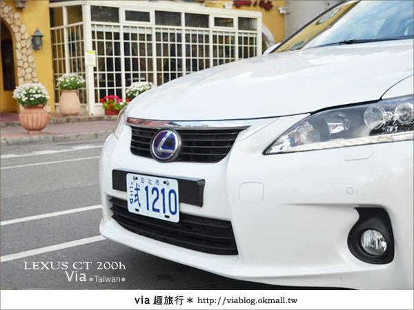 【體驗試乘】和Lexus CT200h來趟台中小旅行~拜訪台中市新景點!30