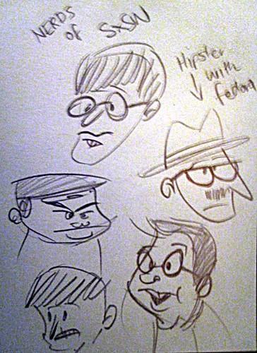 SxSW Doodles