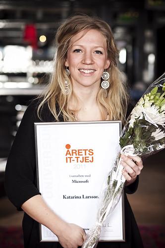 Katarina Larsson, Foto: Universum