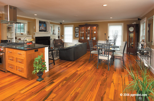 Tiger Wood is an Exotic Hardwood Floor by PG Model