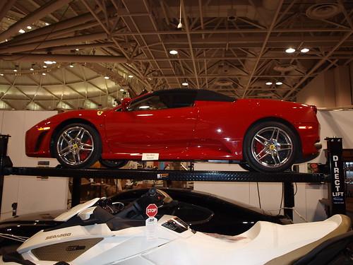Ferrari F430 Spyder in the Ultimate Garage