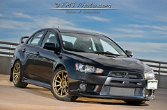 Avan's Evo Front Threequarter (Jason M. S.) Tags: auto portrait usa white black cars car honda silver iso100 centennial nikon automobile colorado unitedstates parkinggarage retrato flash gray sb600 turbo co northamerica modified civic arapahoe import  ritratto acura dtc strobe rsx 70mm   rsxs sigma1020mmf456  arapahoecounty strobist greenwoodvillage  71 d300s  tamron70200f28   70200mm28 nikond300s jasonfmjphotocom wwwfmjphotocom jasonmschoshke Lens:ID=247