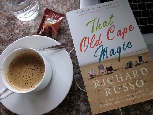 Richard Russo book fan photo