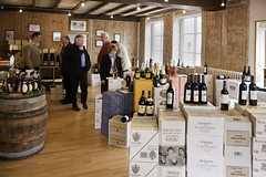 Inside Boursot Wine Shop