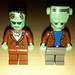 LEGO Collectible Minifigures Series 4 The Monster vs  Studios