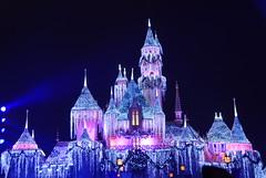 Sleeping Beauty castle (WorldofArun) Tags: california castle tourism goofy fairytale nikon december fireworks disneyland mickey parade resort explore socal fantasy mickeymouse amusementpark charact