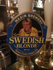 52 beers 3 - 29, Maxim, Swedish Blonde, England