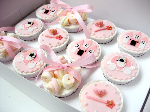 5542050467 39347d16f9 Princess Cupcake Ideas