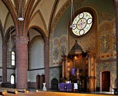 Evangelische Kirche Werden / Altar (GelsenBuer) Tags: wood church germany deutschland essen churches kirche kirchen altar ev nrw holz protestant werden protestantisch sakralbau sakral essenwerden enagelisch sakralkunst