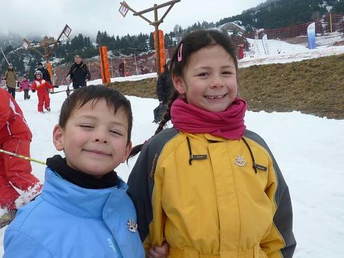 Vacances skis famille magain duong Aussois Maurienne Savoie 12-19 mars 2011 343