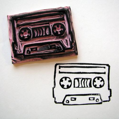 3.19 stamp cassette tape
