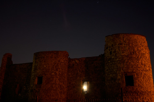 La Luna en el Castillo de Torrejón de Velasco