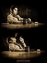 Sometimes u just need it! (Arash Sefid) Tags: sepia iran antique cigar tired arash colorless mashhad markii sefid arashsefid canon5dmarkii
