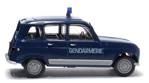Norev R4 Gendarmerie serie Polizia