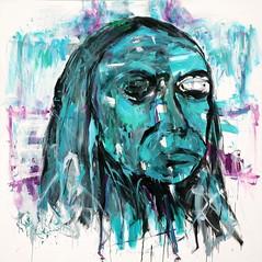 007 óleo sobre lienzo   175x175 cm 1998 (arteneoexpresionista) Tags: rando jorge käthe kollwitz