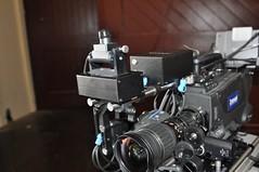 Redrock and Lightcraft (redrockmicro) Tags: 35mm videocamera production redrock vfx indiefilm previz redrockmicro lightcraft virtualproduction