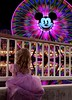 Watching Mickey... (Ring of Fire Hot Sauce 1) Tags: longexposure color night princess disneyland spinning disneycaliforniaadventure paradisepier arielsgrotto worldofcolor mickeysfunwheel canont1i