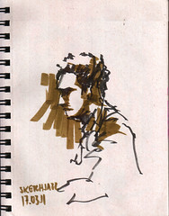 SketchJazz 5 (AdrianoMello) Tags: sopaulo jazz desenho hidrocor scketchbook baranita sketchjazz