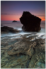 hardrock (chris frick) Tags: longexposure sea italy seascape wideangle filter hues lee mediterraneansea albenga isolagallinara chrisfrick canon1635mmf28liiusm canoneos5dmark2 09gndsoft 075gndhard