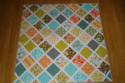Central Park baby quilt