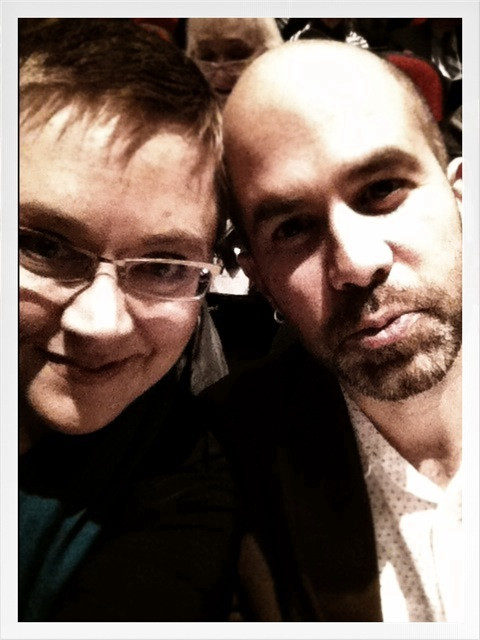Aidan and I at the Royal Winnipeg Ballet's Wonderland