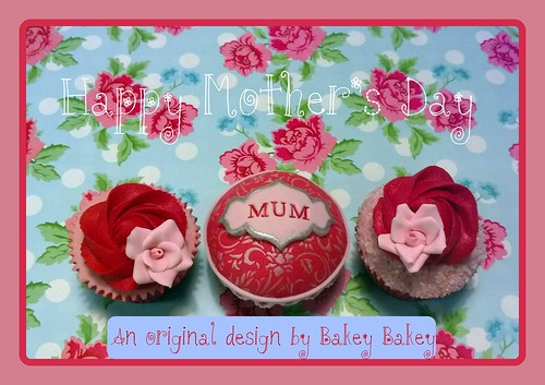 Mothering Sunday cupcakes