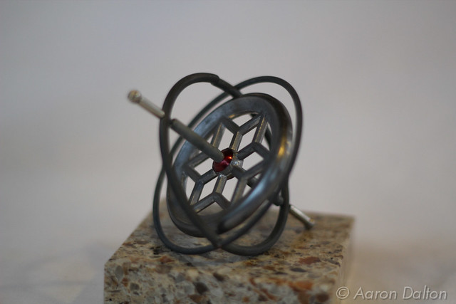 Isolated Gyroscope on Granite