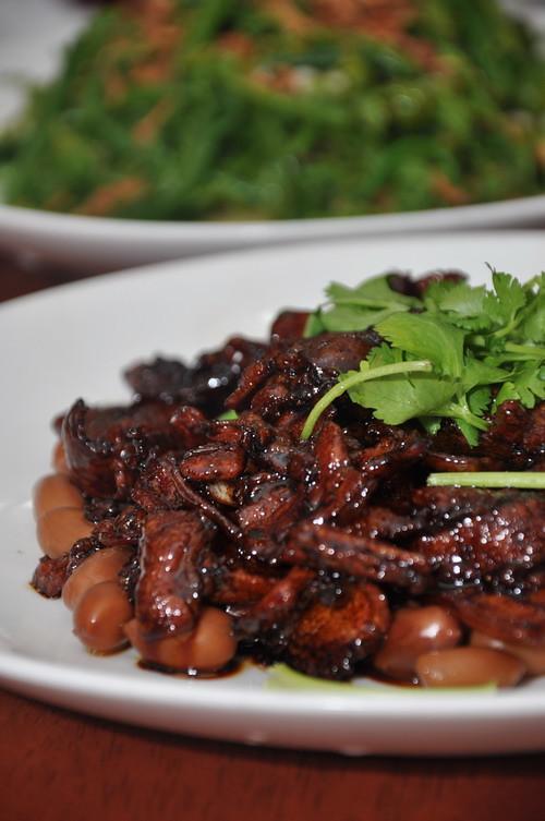 Restaurant LYJ Pork Belly with braised peanut